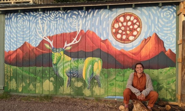 Celebrating Crestone and its artists through murals: An interview with muralist Sam Bavelock