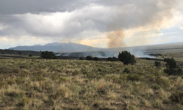 Great Sand Dunes Manages Lightning-Caused Stupa Fire