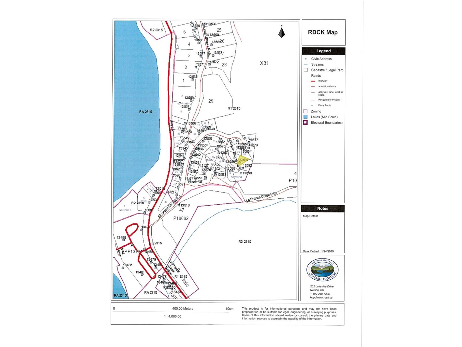 Lot 21 MOUNTAIN SHORES ROAD
