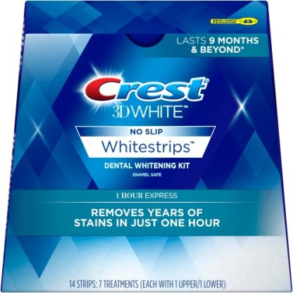 Crest 3D White Whitestrips 1-Hour Express