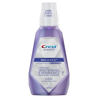 Crest 3D White Brilliance Clean Mouthwash