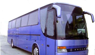 Ακινησία τουριστικών λεωφορείων