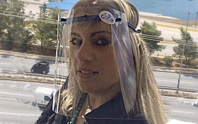 Νέα μάσκα προστασίας-προσωπίδα