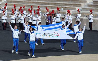 Τελετή παράδοσης Ολυμπιακής Φλόγας