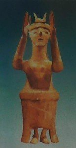idol of the goddess