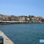 Harborside of Chania.