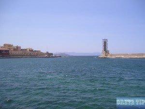 Venetian lighthouse Chania