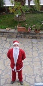 Cretan Santa Claus