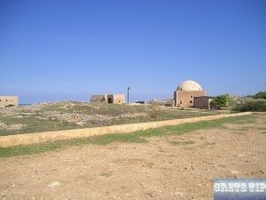 Inside the 'Fortetsa' fortress