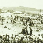 POW camp for British and Greek soldiers