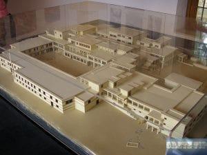Model of the original Palace of Malia.