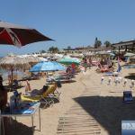 Central beach of Malia