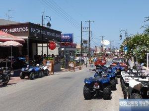 main amusement road Malia