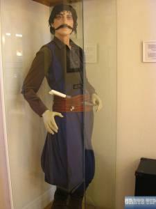 Cretan freedom fighter in traditional costume