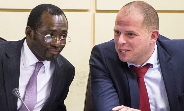 Laurent Mutambayi et Théo Francken