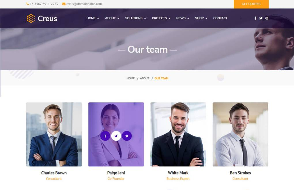 Creus - Business and Financial Consulting WordPress Theme - 4