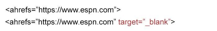 Formatting Links Correctly