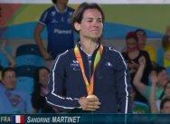 Sandrine Martinet en judo