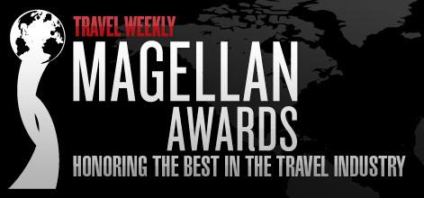 Image result for travel weekly magellan award
