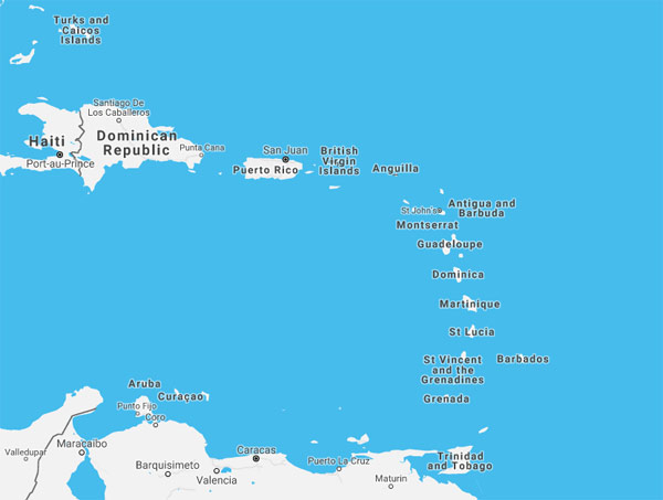 netherlands antilles cruise ports