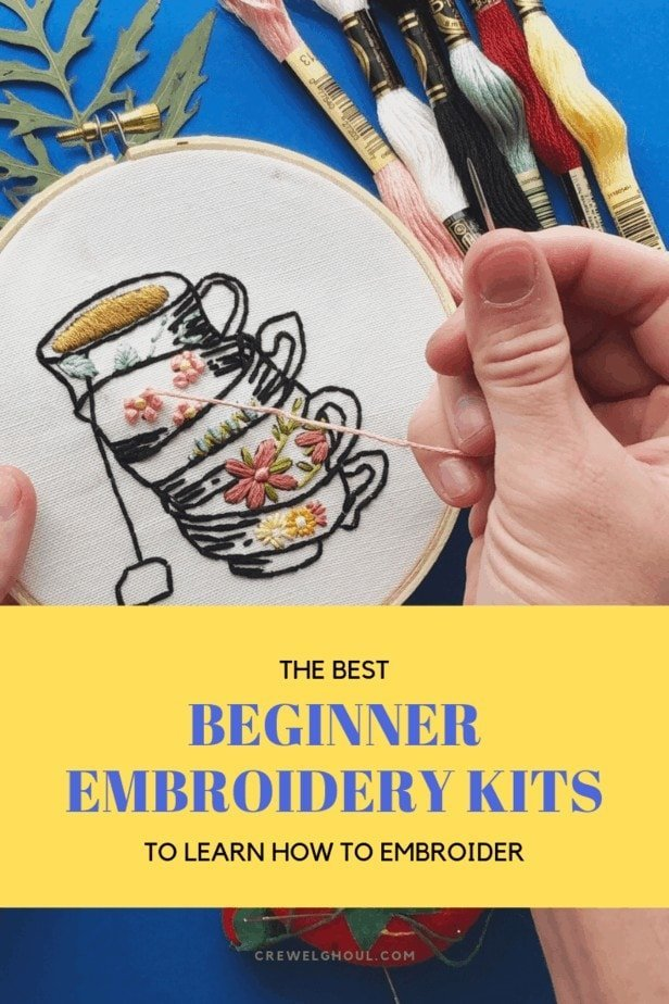the best beginner embroidery kits