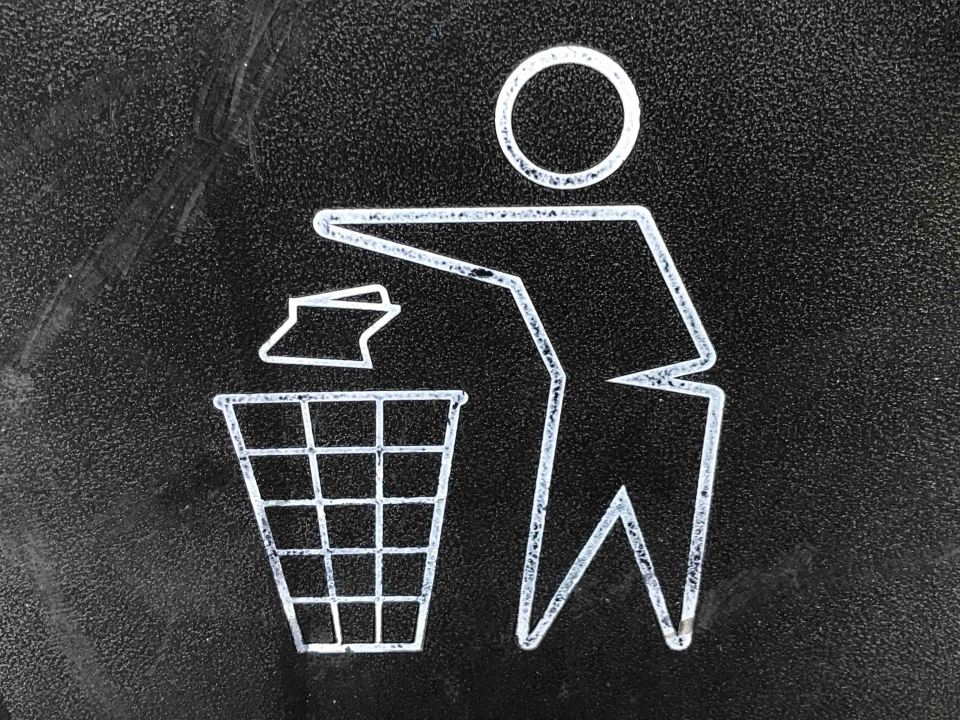 sustainable business practices - recycle sign