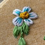 How To Embroider Flowers By Hand Embroidery Ideas Crewel Ghoul