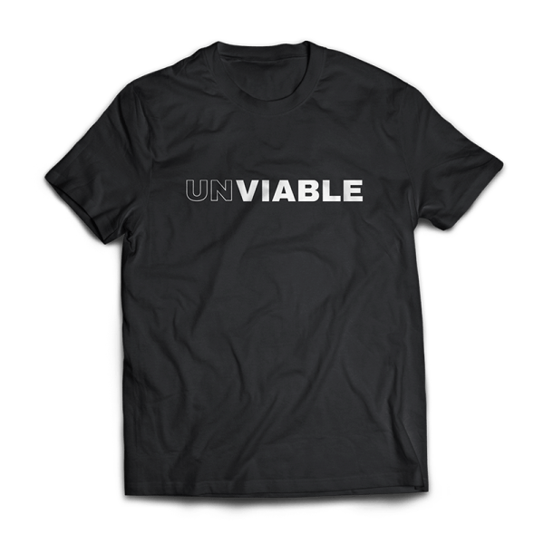 UNVIABLE T-Shirt by Crew Gear