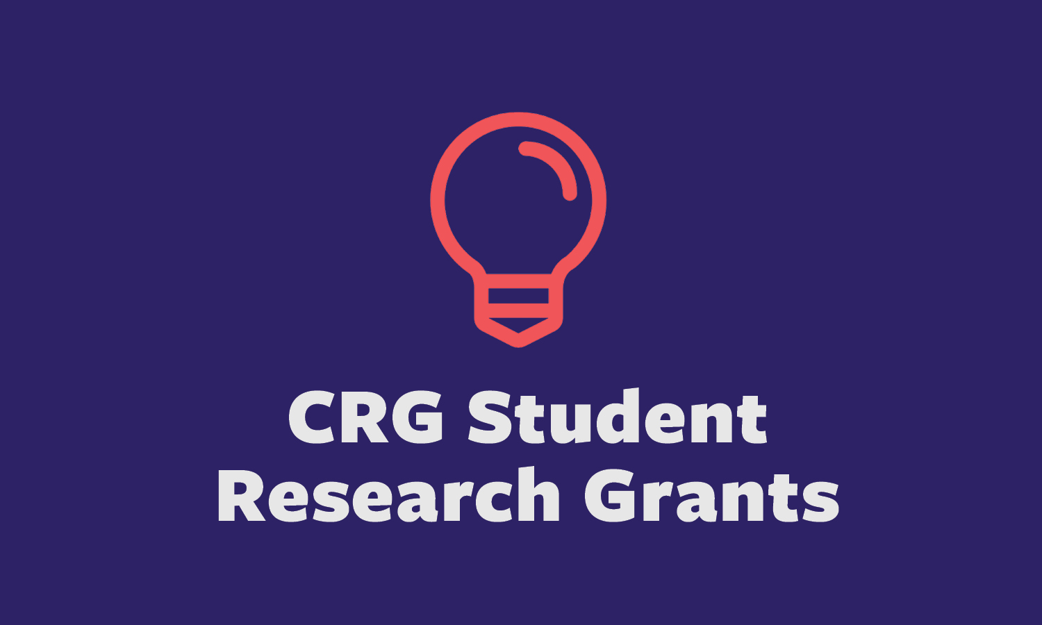 Undergraduate Student Research Grants  Application