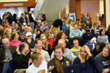 Sisters of Mercy University Center packed for Nov. 16 speech by Rue Patel.