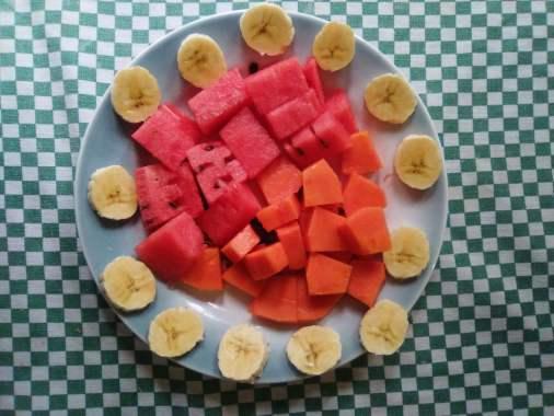 desayuno fruta