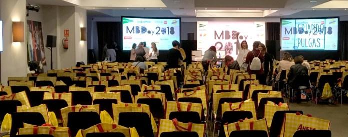 Sala del evento Madresfera Bloggers Day 18
