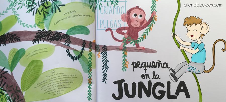 Pequeña en la jungla