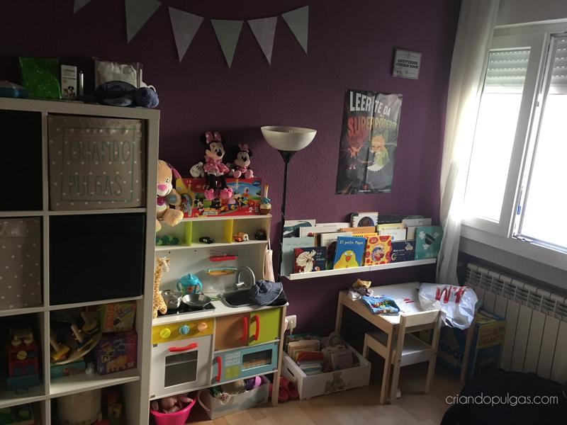 Habitación infantil antes de la transformación