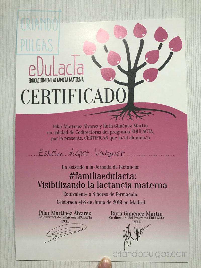 certificado de aprovechamiento jornada eDulacta