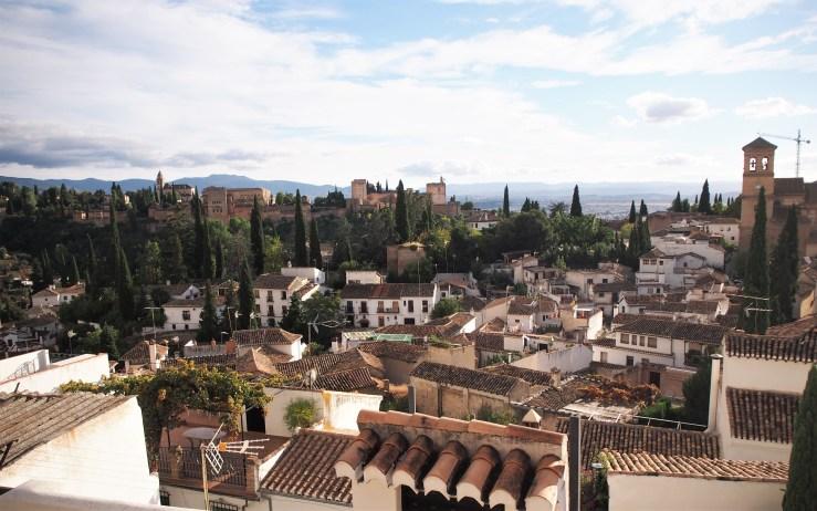 Vista de la Alhambra desde el Sacromonte
