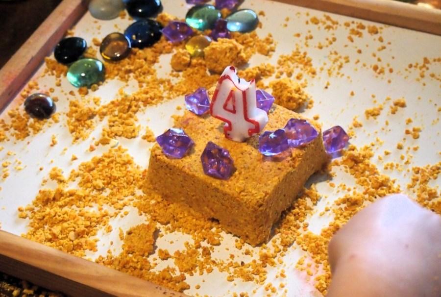 Una de las tartas que hicimos con la haena mágica