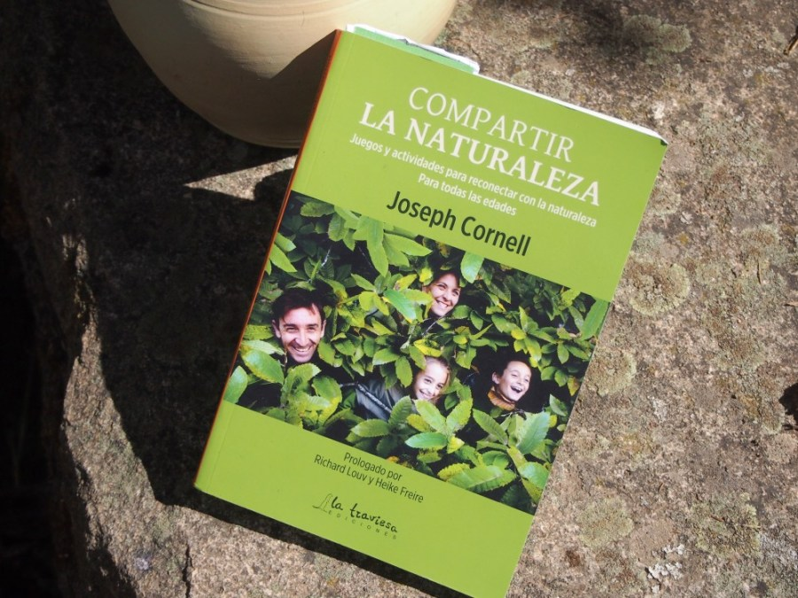 """Portada del libro """"compartir la naturaleza"""" de joseph cornell"""