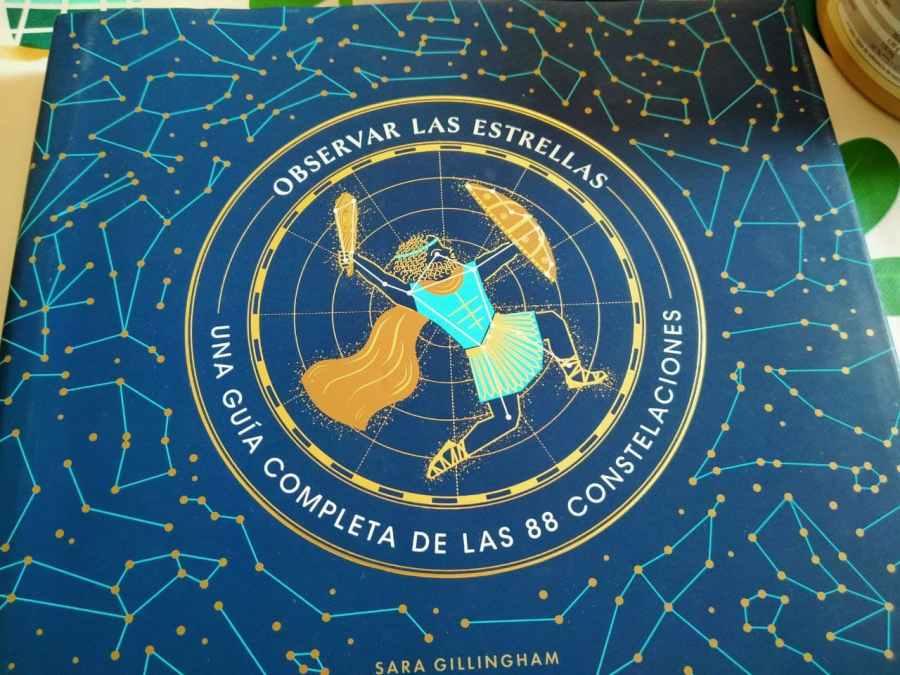 """Portada del libro """"Observar las estrellas."""" de Sarah Guillingham"""