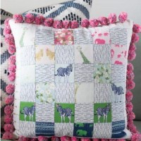 Patchwork Pillow Tutorial Free