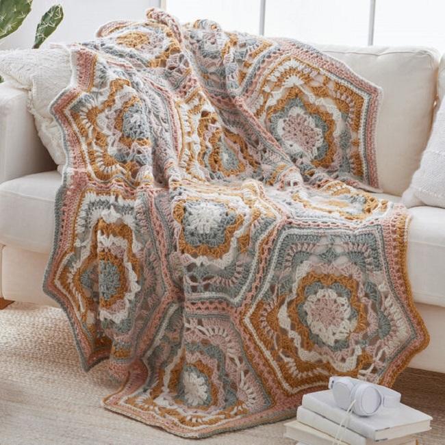 crochet Desert Dreams Crochet Throw