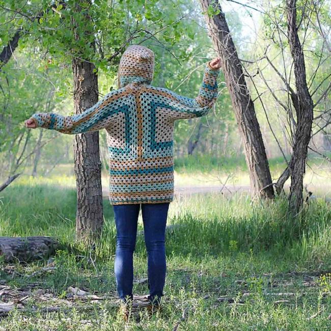 Crochet Campfire Cardigan