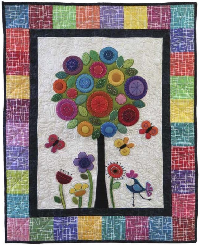 Wool Werks Free Quilt Pattern