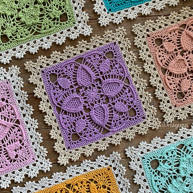 This pattern is by Julia Hart of Draiguna. blogwww.draiguna.com.