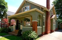 Craftsman Bungalow Style Houses