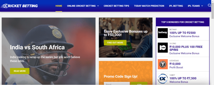 real betting online india