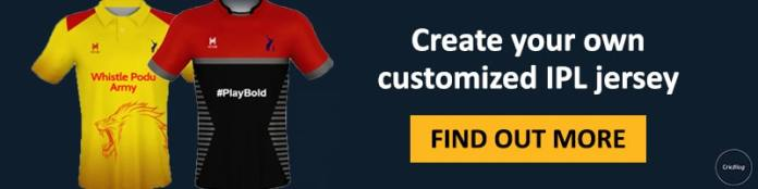 Create your own jersey banner
