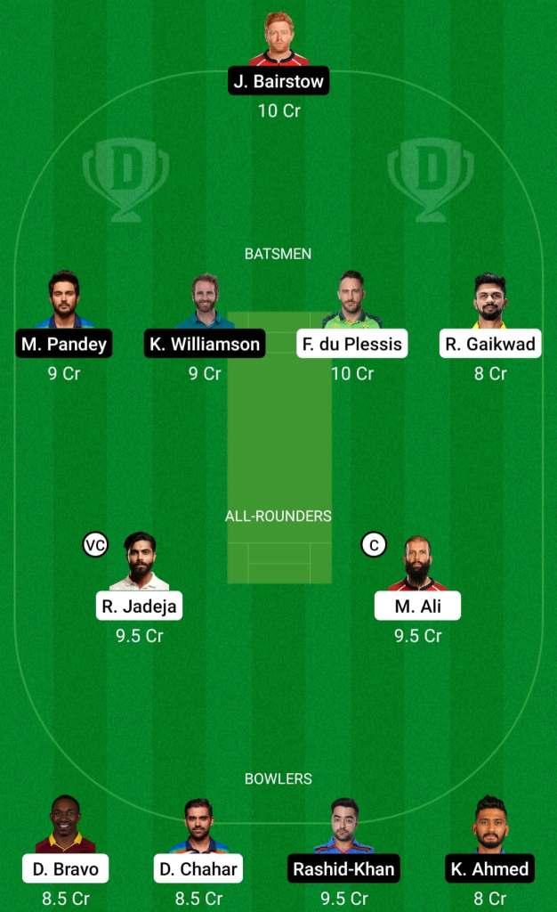 IPL 2021 Match 23: CSK vs SRH Dream11 Prediction Possible Playing 11 Pitch Report | CSK vs SRH Dream11 Prediction Today | Chennai Super Kings vs Sunrisers Hyderabad | Key Players | Delhi Pitch Report