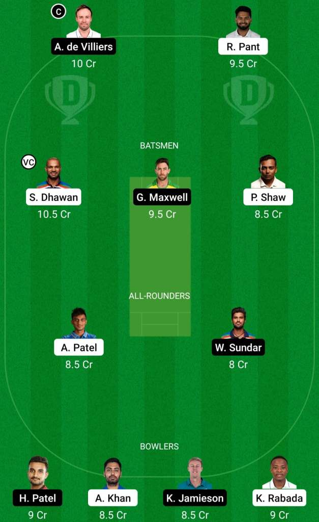 IPL 2021 Match 22: DC vs RCB Dream11 Prediction Possible Playing 11 Pitch Report | DC vs BLR Dream11 Prediction Today | Delhi Capitals vs Royal Challengers Bangalore Key Players | Ahmedabad Pitch Report
