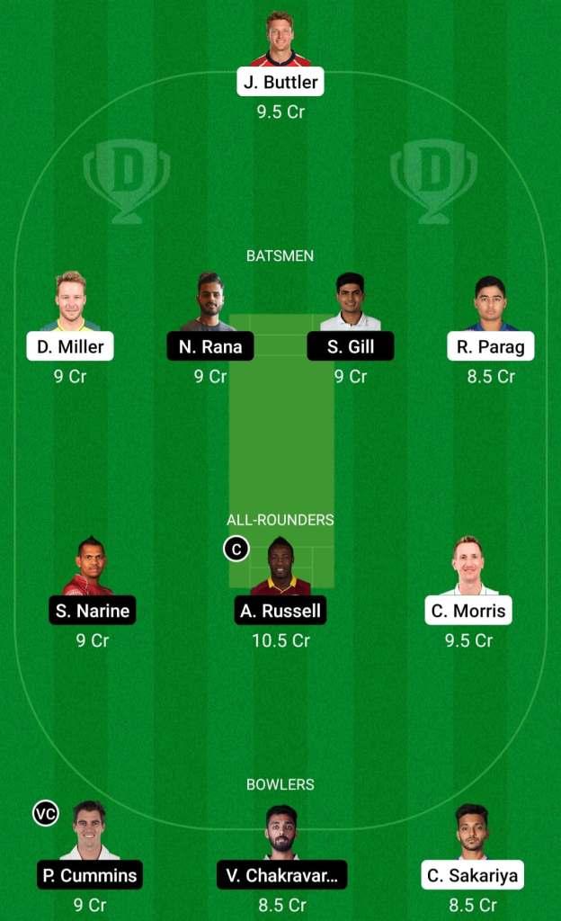 IPL 2021 Match 18: RR vs KKR Dream11 Prediction Possible Playing 11 Pitch Report   RR vs KKR Dream11 Prediction Today   Rajasthan Royals vs Kolkata Knight Riders   Key Players   Mumbai Pitch Report
